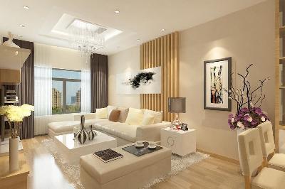 Bố trí nội thất phòng khách căn hộ theo phong thủy đón may mắn, thịnh vượng