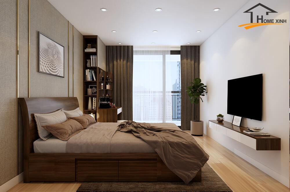 Thiết kế nội thất chung cư cần chọn màu sắc sao cho hợp tuổi gia chủ