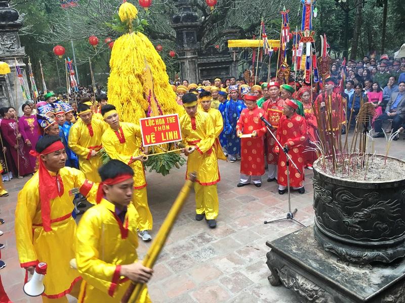 Sự tích về 8 lễ vật được cung tiến tại lễ hội đền Sóc 2019