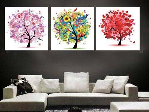Tư vấn cách treo tranh nghệ thuật trong thiết kế nội thất