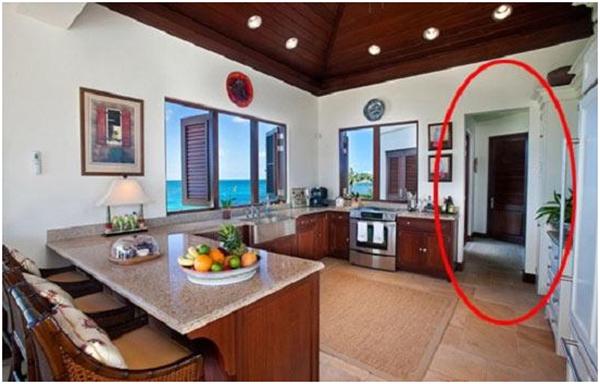 Không bố trí cửa phòng ngủ đối diện với cửa chính của ngôi nhà
