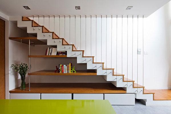 Cách tính số bậc cầu thang nhà phố theo phong thủy