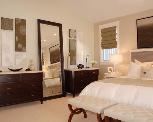 gương phòng ngủ - thiết kế home xinh