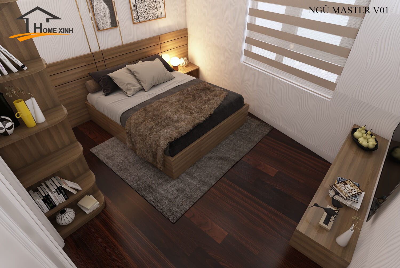 đặt giường ngủ theo phong thủy