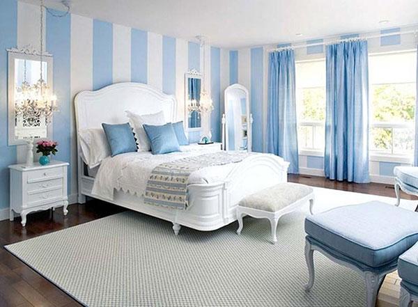 Đặt giường ngủ theo phong thủy tại nơi thoáng nhất trong phòng