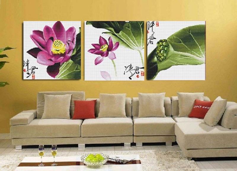 tranh nghệ thuật trang trí nhà
